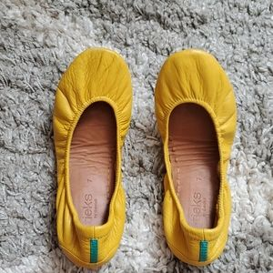 Tieks by Gavrieli Mustard Yellow